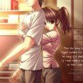 hình nền anime tình yêu đẹp