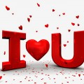 Hình ảnh nền chữ I Love You