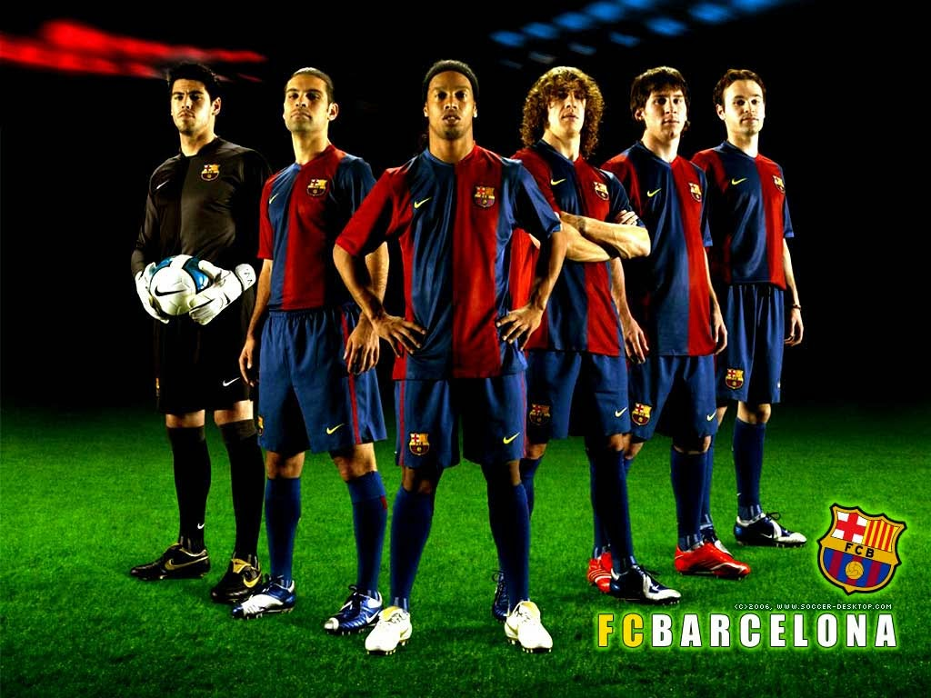 wallpaper footbball barcalona
