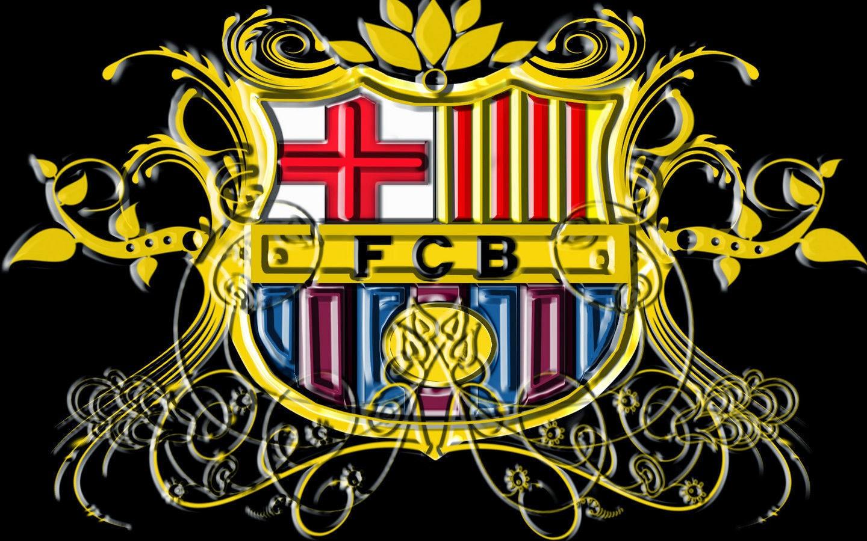 hình nền logo đội bóng barcalona
