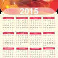 hình nền lịch năm mới 2015