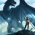 ảnh đẹp Anime girl and Dragon