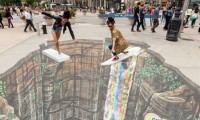 vẽ hình graffiti
