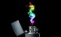 hình nền Rainbow